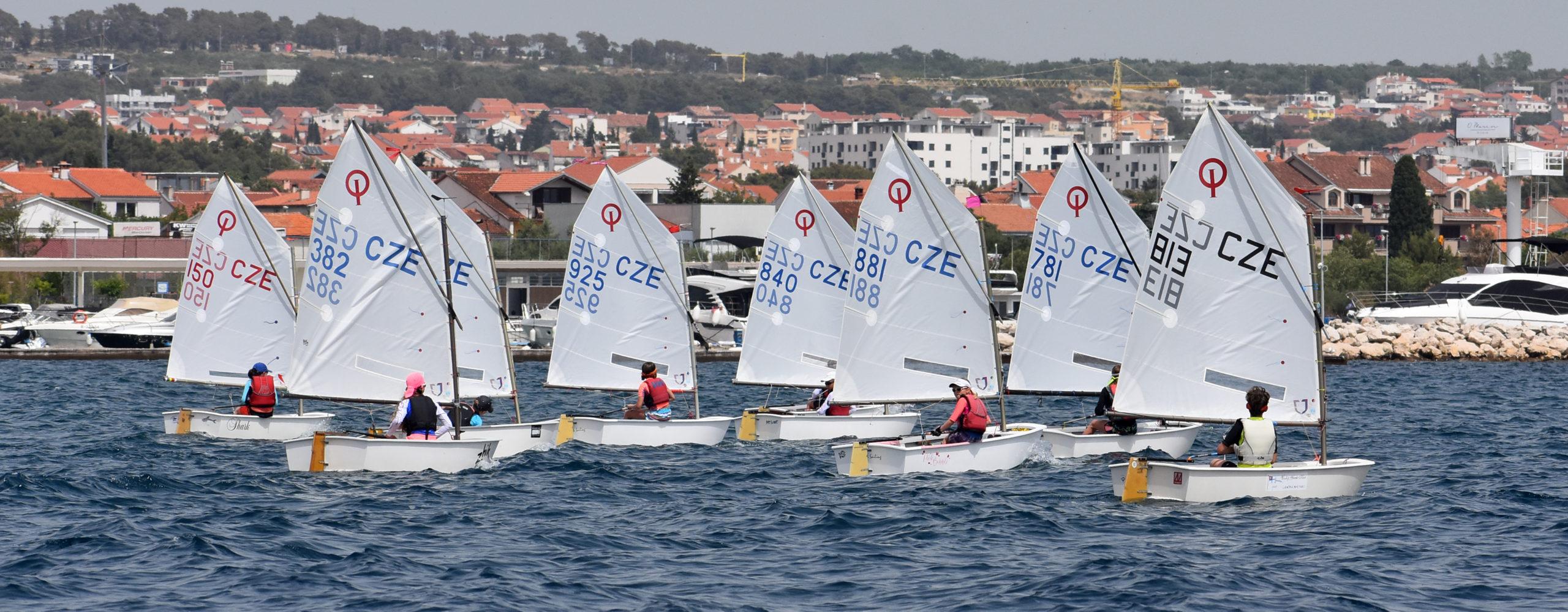 Soustředění Optimistů v Zadaru