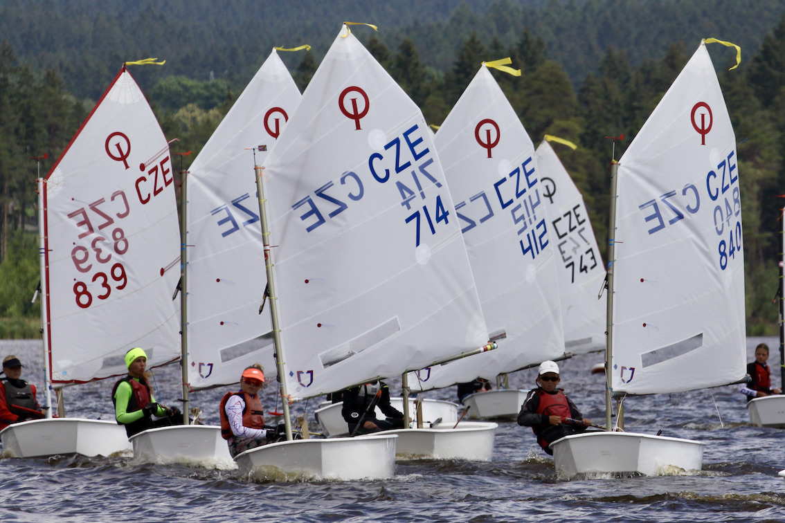 Soustředění a Bambusová regata na Velkém Dářku